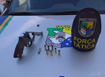 Elemento morre após troca de tiros com policiais do Tático no Santa Maria