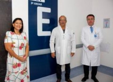 Hospital de Cirurgia recebe a estrutura física da nova UTI