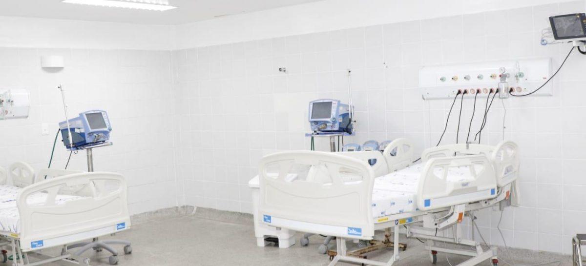 Covid- 19: Governo monta dez novos leitos de Unidade de Atendimento Crítico e de enfermaria no Huse