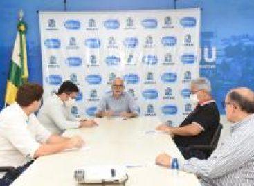 Edvaldo faz mais uma rodada de diálogo com entidades da Saúde