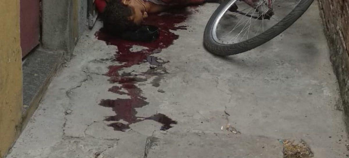 Ex-presidiário é atingido por vários tiros no conjunto Marcos Freire