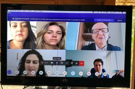 Integrantes do TCE/SE participam de encontro técnico virtual do Projeto Integrar