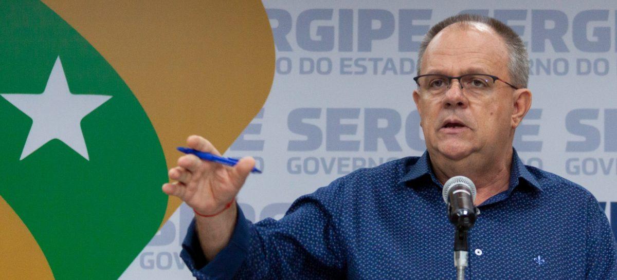 Belivaldo diz que com ampliação de testes, números do coronavírus em Sergipe