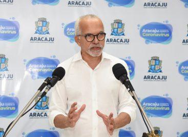 Prefeito assina novo decreto e prorroga medidas de distanciamento social em Aracaju até 24 de abril