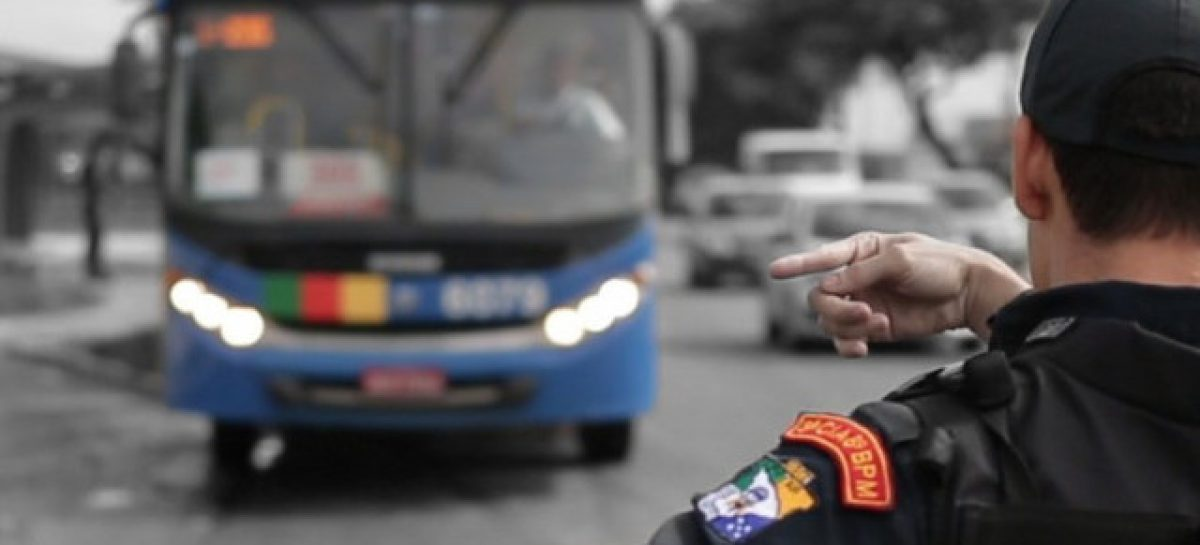 Roubos a ônibus apresentam redução de 86,13% nos três primeiros meses de 2020