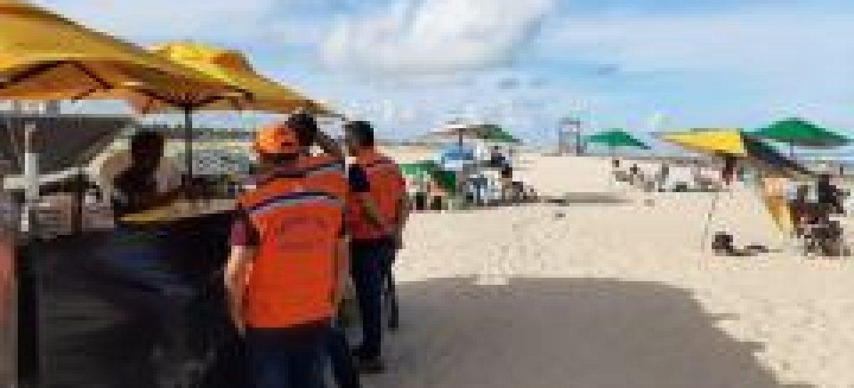 Coronavírus: Defesa Civil orienta pessoas a deixarem praias de Aracaju