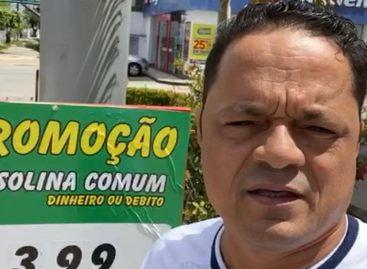 Capitão Samuel continua a fiscalização em busca da redução dos valores dos combustíveis em Sergipe