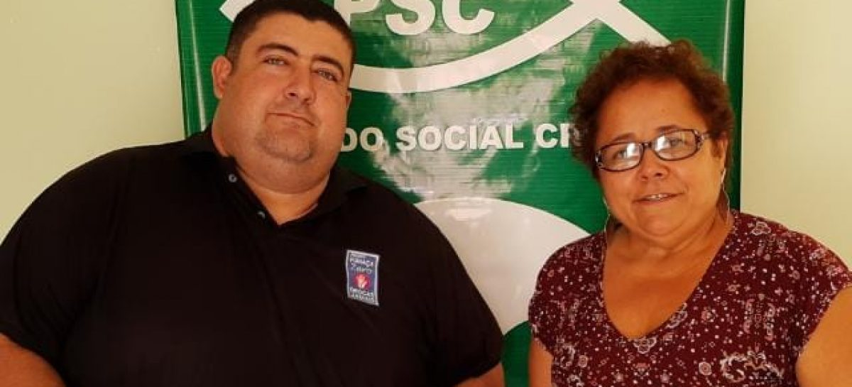 "Vereador cabo Didi se filia ao PSC e diz ""agora vamos lutar juntos"""