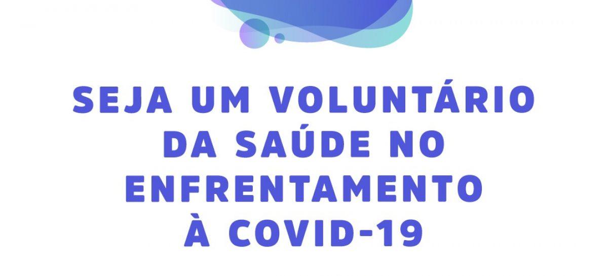 PMA recruta voluntários para enfrentamento ao coronavírus