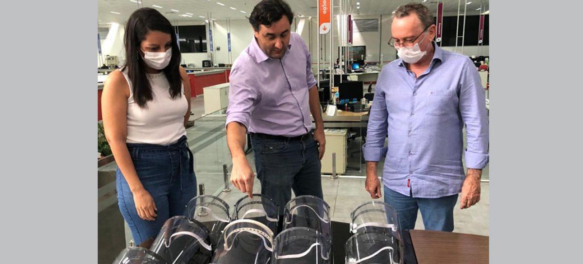 SergipeTec entrega máscaras de proteção em 3D para prevenção ao Coronavírus