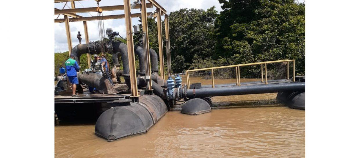 Deso relata problemas na captação de água devido aumento da vazão do Rio São Francisco