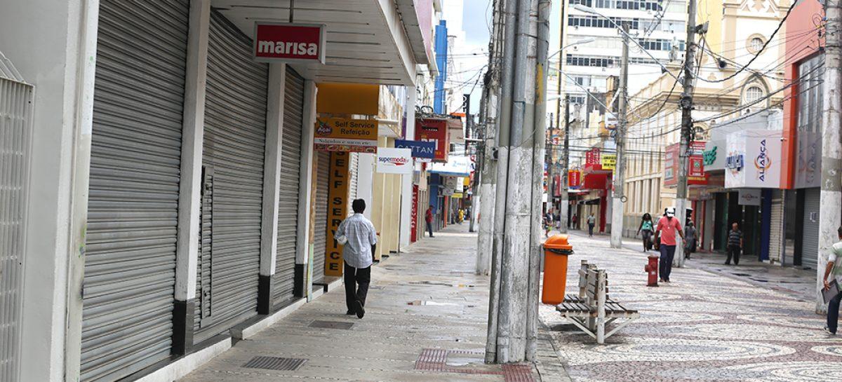 Covid-19 – MP recomenda que município de Aracaju interdite Calçadão da 13 de Julho