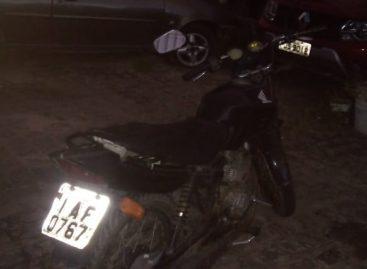 Condutor é detido pela CPTran com placa de motocicleta adulterada