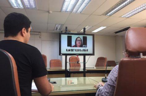 Sessão Remota: deputados testam equipamentos e já discutem pauta de votação