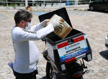 Case mantém em maio entrega domiciliar de medicamentos para pacientes de Aracaju