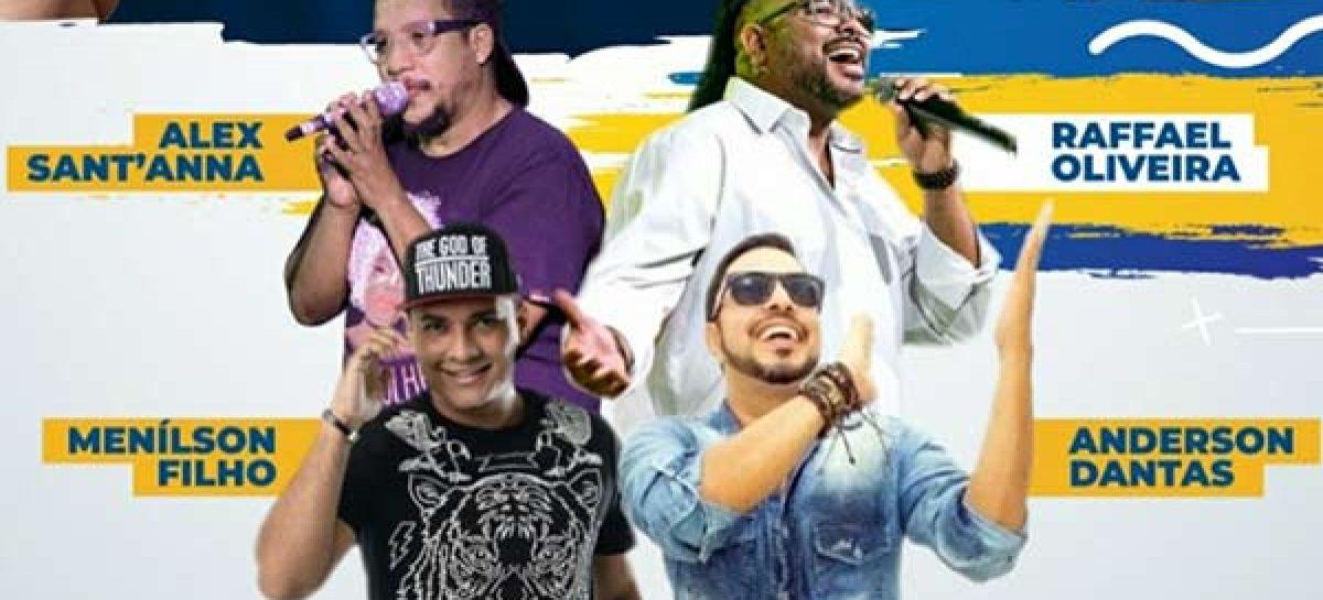 Sesc realiza live com cantores sergipanos no dia do trabalhador