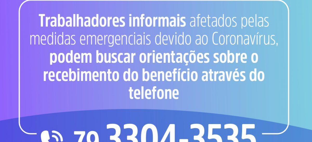 PMA cria canal para orientar aracajuanos sobre auxílio emergencial do governo federal