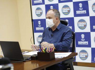 """""""Não vou ceder a nenhum tipo de pressão para fazer 'liberou geral"""", diz Belivaldo Chagas"""