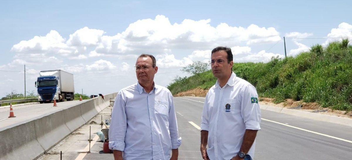 Zezinho Sobral mantém fiscalização das obras de duplicação da BR 101 em Sergipe