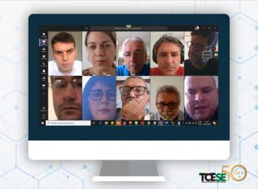 Presidente do TCE reúne diretores e coordenadores para debater contenção de despesas