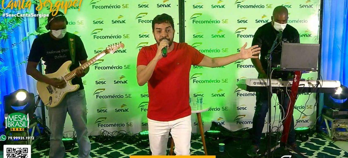 Live Canta Sergipe foi sucesso de público e de solidariedade
