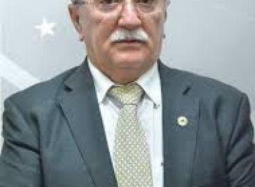 Deputado Luciano Bispo testa positivo para o Covid-19