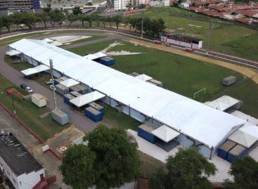Hospital de campanha de Aracaju inicia atendimento aos pacientes neste sábado
