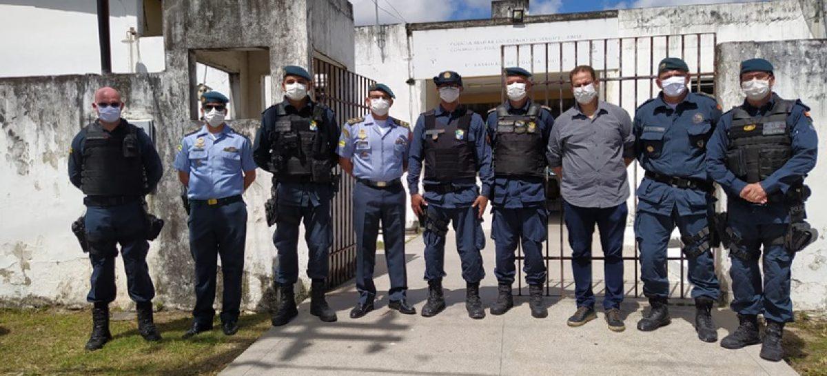 Polícia Militar do estado de Sergipe inicia o Projeto Comando Itinerante