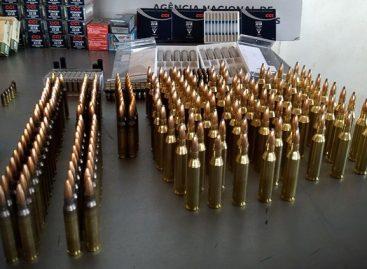 Sergipe inicia compras de equipamentos e recebe cerca de 450 mil munições de armas de fogo