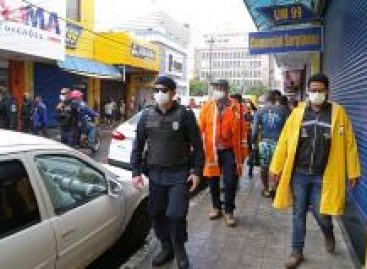 PMA realiza ação de fiscalização no Centro para garantir cumprimento de decretos