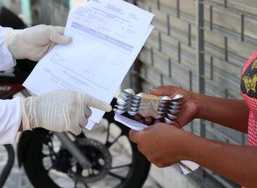 Case divulga cronograma de maio para entrega de medicamentos em domicílio na capital