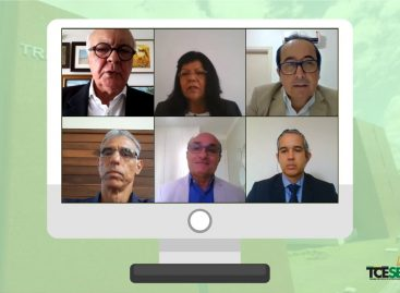 Conselheiros julgam 72 processos em sessão virtual da Primeira Câmara do TCE
