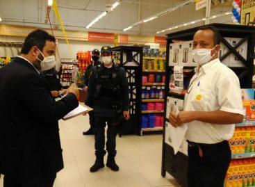 Procon e PM verificam cumprimento das medidas sanitárias contra a Covid-19