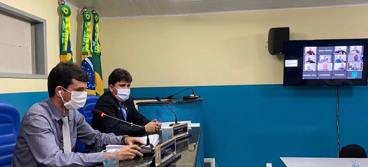 Câmara de São Cristóvão recebe informações sobre ações de enfrentamento ao coronavírus