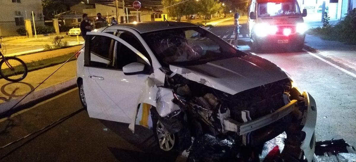 Motorista é preso por dirigir embriagado e provocar acidente