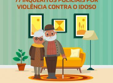 Em 2020, DAGV já instaura 77 inquéritos policiais por violência contra o idoso