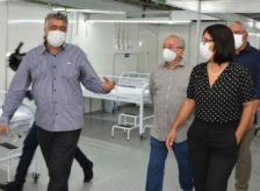 Hospital de Campanha de Socorro já está apto a tratar pacientes com coronavírus