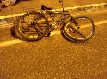 Ciclista morre após colidir com um veículo no bairro Aeroporto