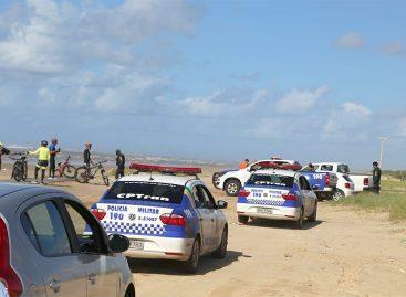 Prefeitura de Aracaju e Governo de Sergipe fiscalizam praias, neste domingo
