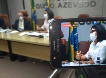 Luciano Bispo anuncia doação de EPI da Alese para a SES