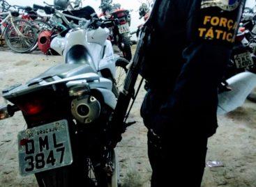 Tático apreende mais uma moto roubada no bairro Santa Maria em Aracaju