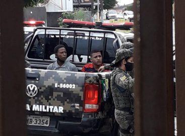 Bandidos tentam assaltar casa lotérica em Santo Amaro  e acabam presos pelo Gati