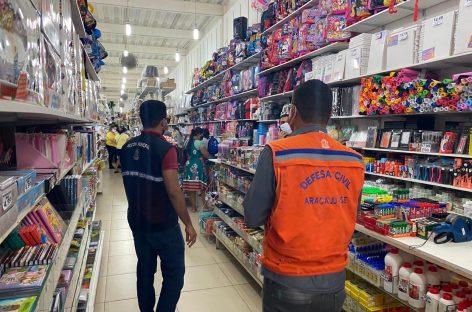 Prefeitura mantém intensificadas as fiscalizações na região comercial do Centro