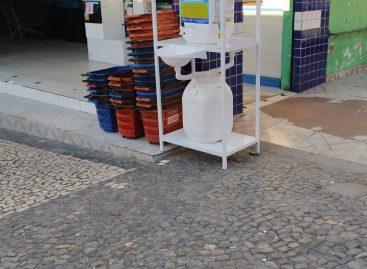 Prefeitura de Canindé disponibiliza pontos de higienização à população