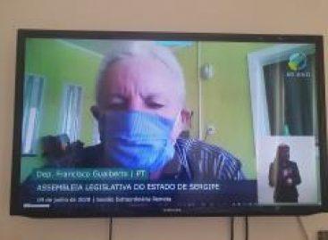 Gualberto reafirma sua posição contrária à proposta de saída de SE do Consórcio Nordeste