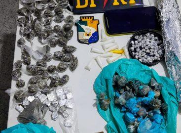 Homem é preso com mais de 150 papelotes de crack em Laranjeiras