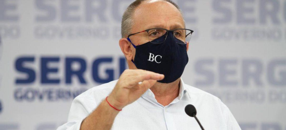 Belivaldo: vamos estabelecer multa para quem não usar máscara