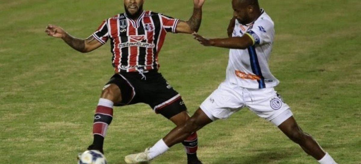 Confiança está classificado para as semifinais da Copa do Nordeste