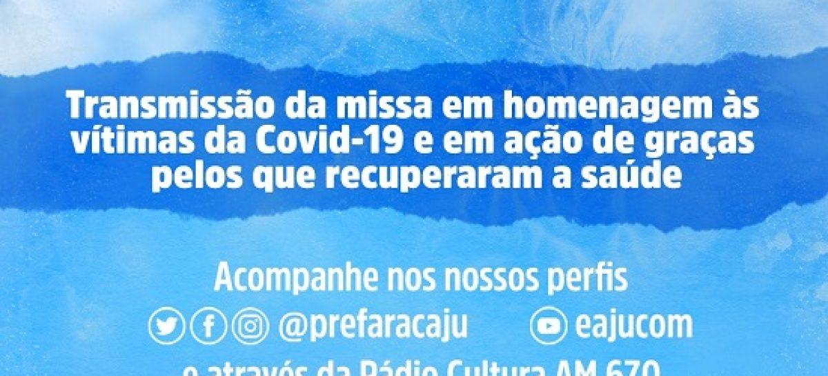 Covid-19: missa em homenagem às vítimas será transmitida nesta terça
