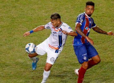 Confiança perde para o Bahia está eliminando da Copa do Nordeste